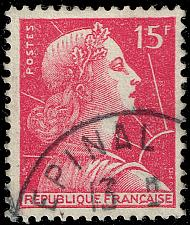 Buy France #753 Marianne; Used (4Stars) |FRA0753-10XDP
