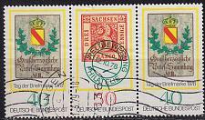 Buy GERMANY BUND [1978] MiNr 0980+81 WZd2 ( O/used ) [01]