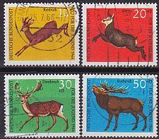 Buy GERMANY BUND [1966] MiNr 0511-14 ( O/used ) Tiere