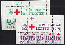 Buy LIECHTENSTEIN [1963] MiNr 0428-29 ( **/mnh ) [01] Rotes Kreuz Oberrand