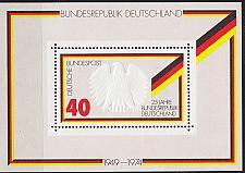Buy GERMANY BUND [1974] MiNr 0807 Block 10 ( **/mnh )