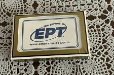 Buy Brand New Sealed Deck Advertising Playing Cards Power of EPT Emerson 4 Charity
