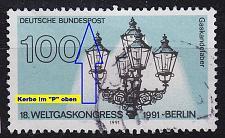 Buy GERMANY BUND [1991] MiNr 1538 F6 ( O/used ) [01] Plattenfehler