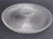 Buy Hand Cut 24% lead crystal large tray signed O'Rourke