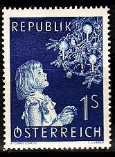 Buy ÖSTERREICH AUSTRIA [1954] MiNr 1009 ( **/mnh ) Weihnachten