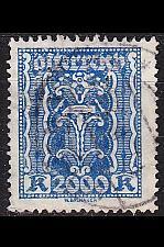 Buy ÖSTERREICH AUSTRIA [1922] MiNr 0395 ( O/used ) [01] perfin
