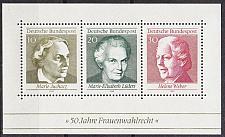 Buy GERMANY BUND [1969] MiNr 0596-98 Block 5 ( **/mnh )
