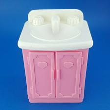 Buy Fisher Price Loving Family Dream Doll House Pink Bathroom Vanity White Sink 1993
