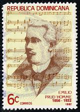 Buy Dominican Rep. #864 Emilio Prud'Homme; Used (3Stars) |DOR0864-03XRS