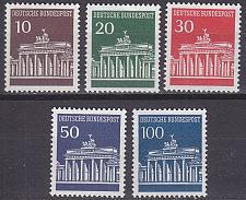 Buy GERMANY BUND [1966] MiNr 0506-10 v ( **/mnh )
