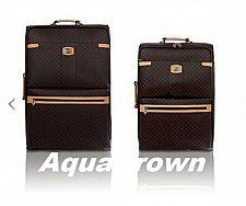 Buy Rioni Signature Large Medium Luggage Brown ST-20121