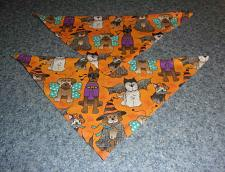 Buy Two Brand New Halloween Dogs Design Dog Bandanas For Dog Rescue Charity