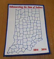 Buy Brand New State Of Indiana Bicentennial Volksport Patch For Dog Rescue Charity