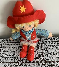 Buy Vintage 1981 Knickerbocker 12 inch Cowpokes Cowgirl Cloth Doll Toy Ruth Morehead