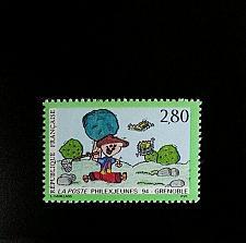 Buy 1994 France Philexjeunes '94, Grenoble Scott 2418 Mint F/VF NH