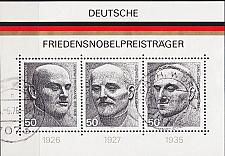 Buy GERMANY BUND [1975] MiNr 0871-73 Block 11 ( O/used )