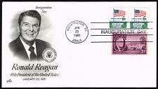 Buy Ronald Reagan Artcraft Cachet Inauguration Day Cover |USACVRLOT-30XDP