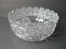 Buy ABP cut glass bowl American + Floral