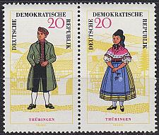 Buy GERMANY DDR [1964] MiNr 1074 WZd149 ( **/mnh ) Trachten