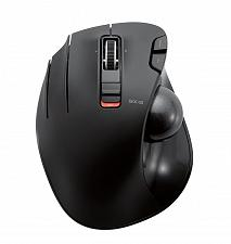 Buy ELECOM M-XT4DRBK Wireless Trackball mouse for Left-Handed, EX-G series L size 6