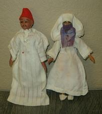 Buy Fine Vintage Middle Eastern Arab Arabian Man/Woman Couple Dolls