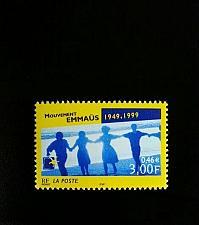 Buy 1999 France Emmaus Movement, 50th Anniversary Scott 2739 Mint F/VF NH