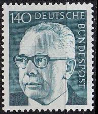 Buy GERMANY BUND [1972] MiNr 0729 ( **/mnh )