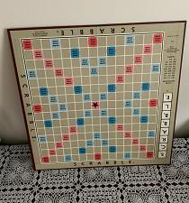 Buy Vintage 1976 Scrabble Game Board Replacement Part For Dog Rescue Charity
