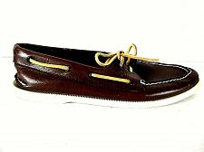 Buy Sperry Top Sider Brown Leather Deck Boat Loafer Casual Shoes Men's 10.5 W (SM2)