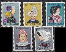 Buy NIEDERLANDE NETHERLANDS [1960] MiNr 0755-59 ( **/mnh ) Trachten