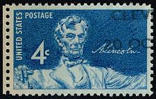 Buy US #1116 Lincoln Sesquicentennial; Used (2Stars) |USA1116-02