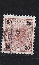 Buy ÖSTERREICH AUSTRIA [1890] MiNr 0059 A ( O/used )
