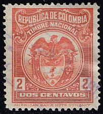 Buy Colombia Revenue Stamp; Used (3Stars) |COLLOT-05XRS