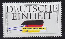 Buy GERMANY BUND [1990] MiNr 1477 F29 ( **/mnh ) Plattenfehler