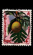 Buy POLYNESIE FRANCAISE [1959] MiNr 0015 ( O/used ) Pflanzen