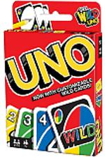 Buy Mattel Games UNO Card Game Customizable with Wild Cards