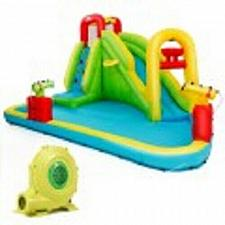 Buy Outdoor Inflatable Water Bounce House with 480W Blower