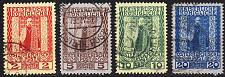 Buy ÖSTERREICH AUSTRIA [Levante] MiNr 0058-61 ( O/used )