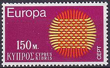 Buy ZYPERN CYPRUS [1970] MiNr 0334 ( **/mnh ) CEPT