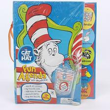 Buy Dr. Seuss Cat In The Hat Fun Agenda Journal Planner Calendar 22005 UNDATED