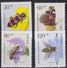 Buy GERMANY BUND [1984] MiNr 1202-05 ( **/mnh ) Tiere