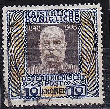 Buy ÖSTERREICH AUSTRIA [1908] MiNr 0156 z ( O/used ) [01]