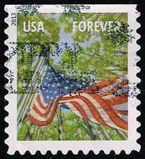 Buy US #4778 Flag in Spring; Used (3Stars) |USA4778-02
