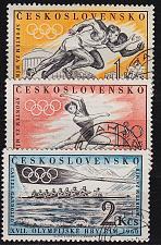 Buy CSSR [1960] MiNr 1206-08 ( O/used ) Olympiade