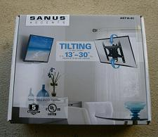 """Buy Sanus Accents Full Motion TV Wall Mount for 13""""- 30"""" TVs. Holds Up To 35lb."""