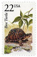 Buy 1987 22c Box Turtle, North American Wildlife Scott 2326 Mint F/VF NH
