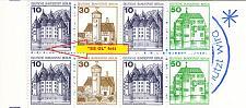Buy GERMANY BERLIN [Markenheft] MiNr 11 a F1 VII ( **/mnh ) Plattenfehler