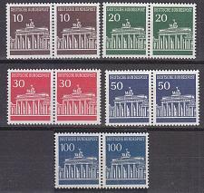 Buy GERMANY BUND [1966] MiNr 0506-10 v 2er ( **/mnh )