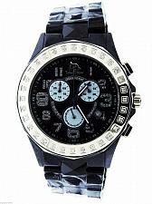 Buy Men's Techno Master Black Ceramic Watches 1.00ct Diamonds Watch