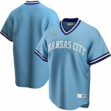 Buy Kansas City Royals Light Blue Road Cooperstown Collection Team Jersey Large